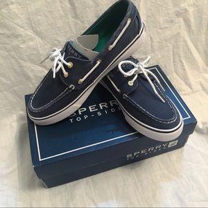 Sperry blue slides size 7.5